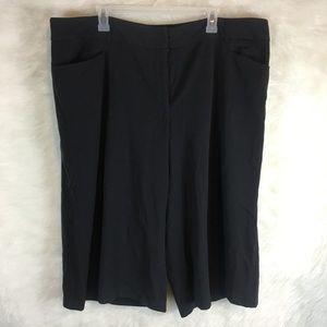 Lane Bryant Gaucho Cropped Pants Slacks Capris 2X